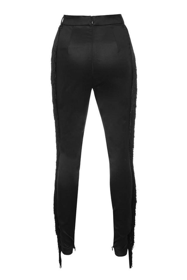 ariyan trousers in black
