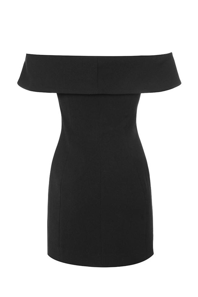 dominica dress in black