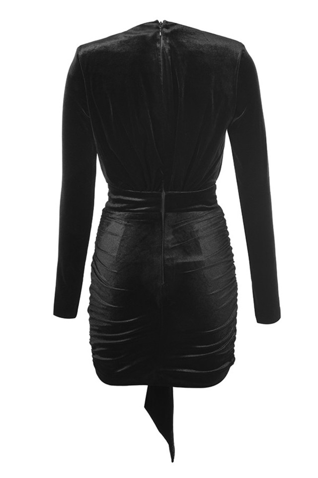 farrah dress in black
