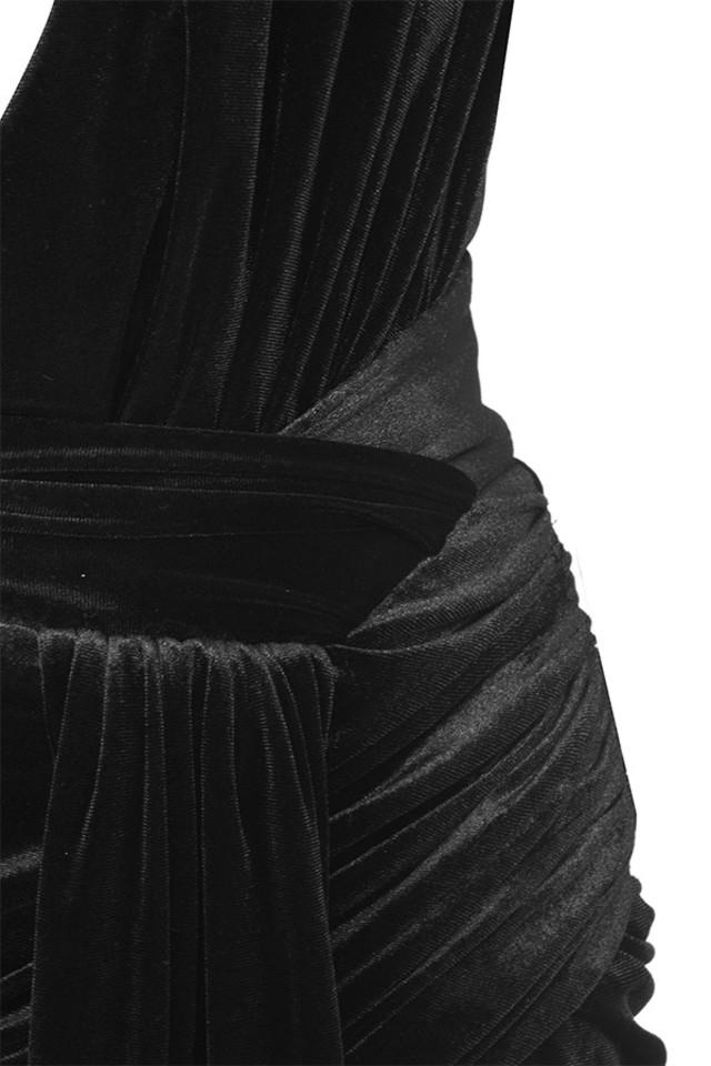 black farrah dress