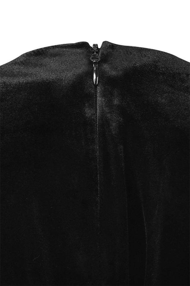 farrah black dress