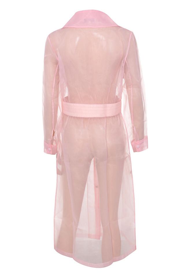 julietta coat in pink