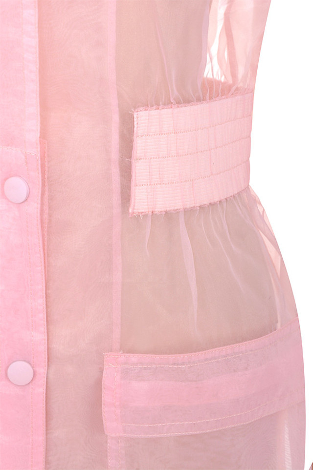 pink julietta coat