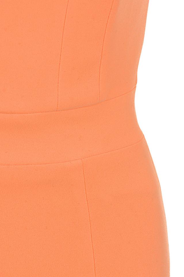 orange issa dress