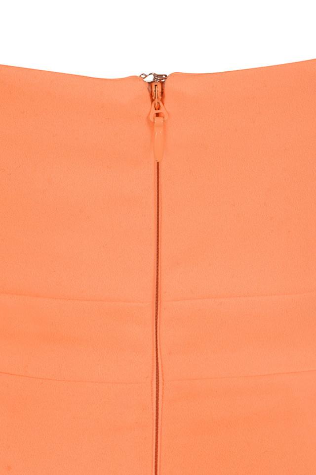 issa orange dress