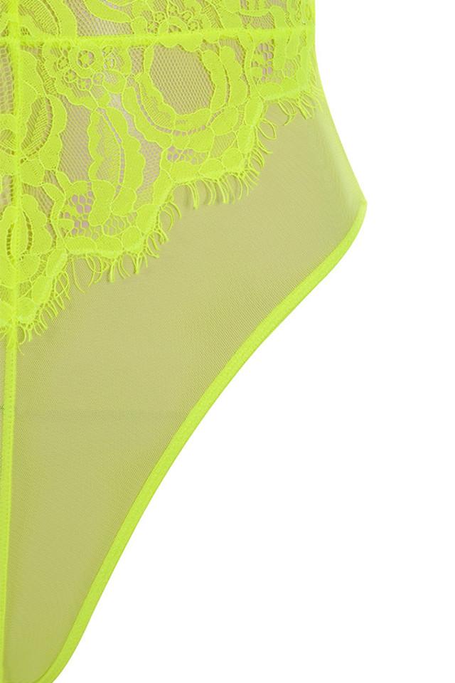 neon yellow nadia top