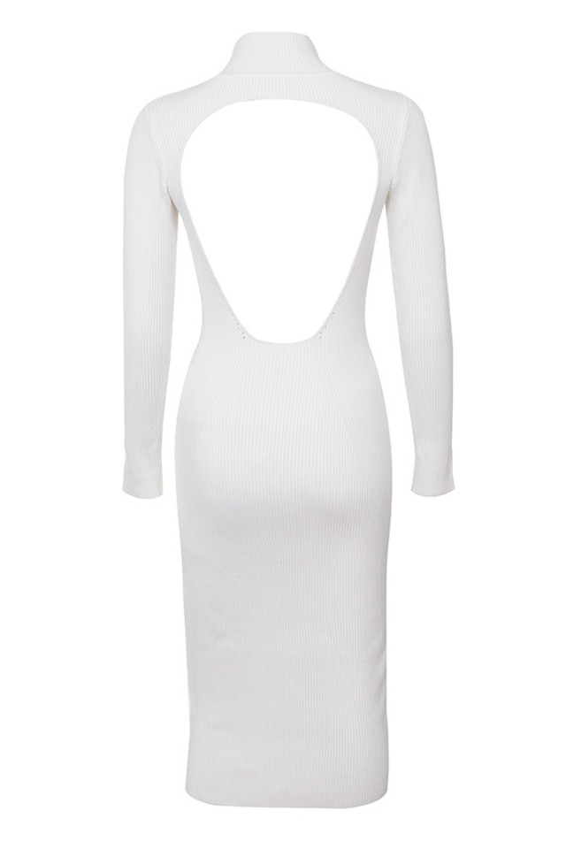 raphaelle dress in white