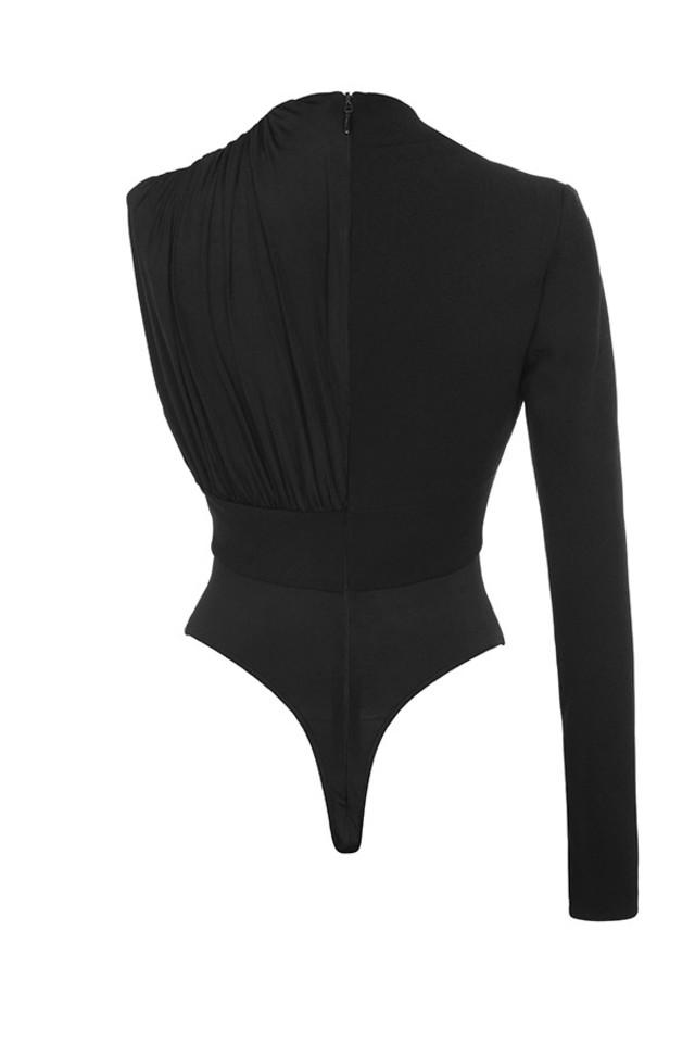 skye bodysuit in black