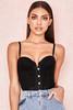 Mikaelya Black Lace Boned Corset