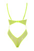 nadia bodysuit in neon yellow