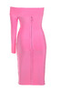 nadine dress in pink