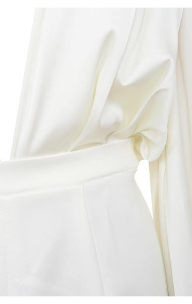 white angelique jumpsuit