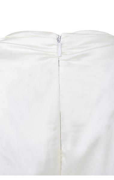 angelique white jumpsuit