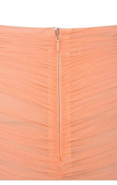 peach aubrey skirt
