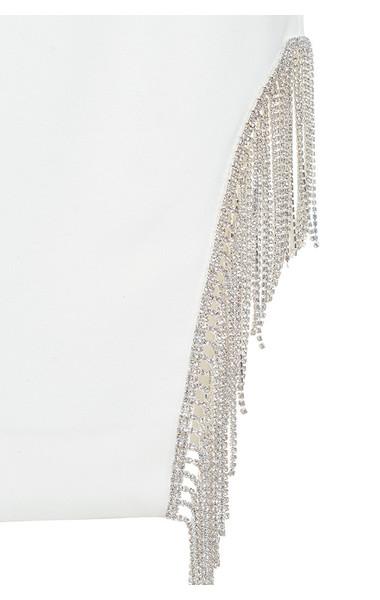 white charlize dress