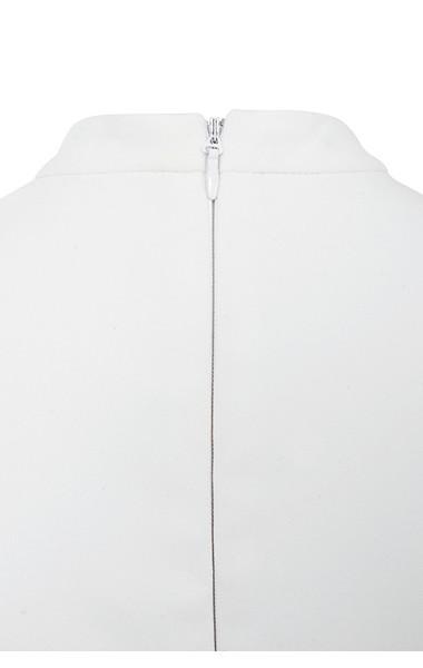 charlize white dress