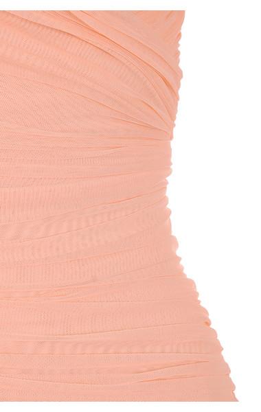 peach felicity dress