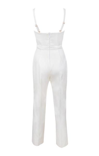 kaela jumpsuit in white