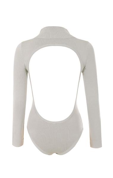 pixie bodysuit in grey