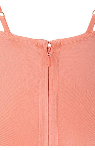 savannah peach dress