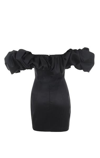 selena dress in black