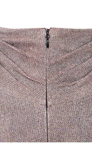 taupe shaker skirt