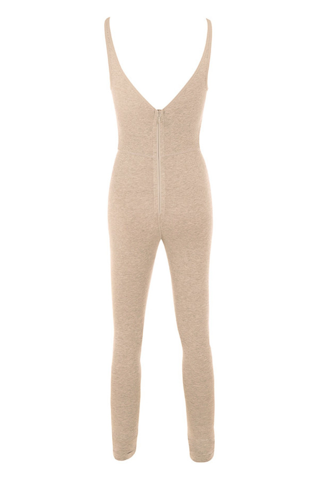 kalani jumpsuit in biscuit