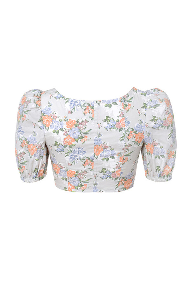 alivia top in floral