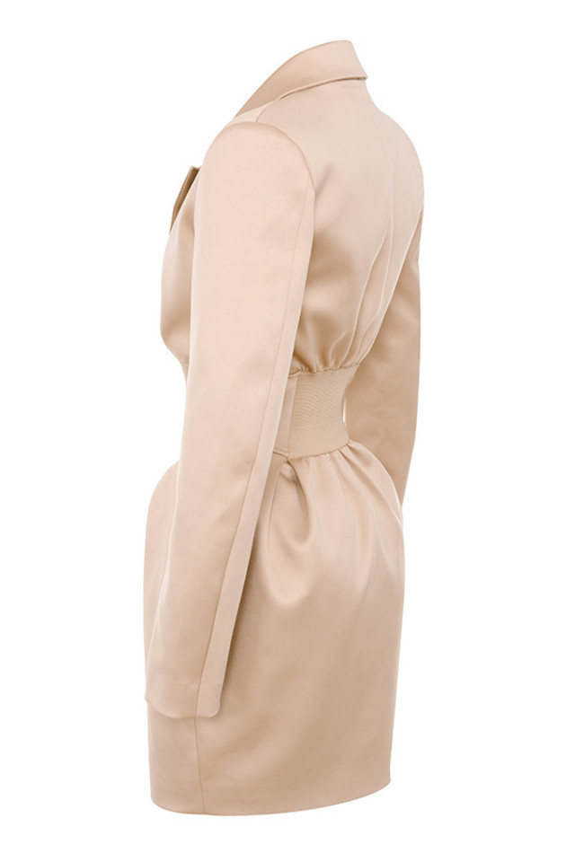 allonia champagne jacket