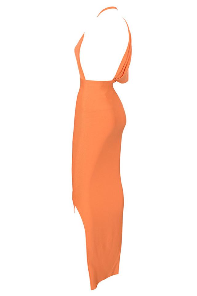 clemence in orange