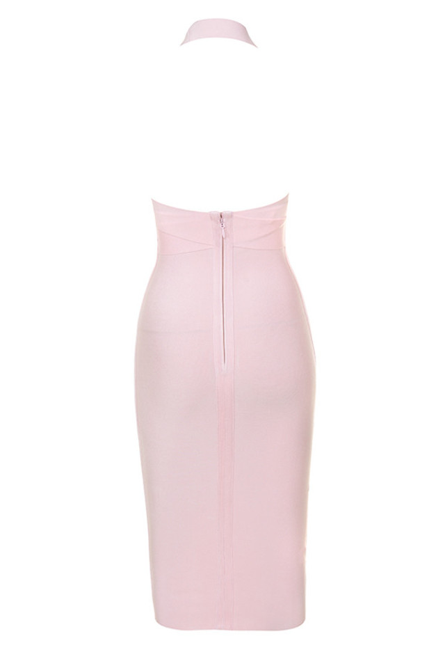 courtney dress in pink