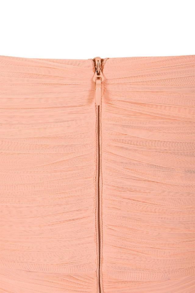 felicity peach dress