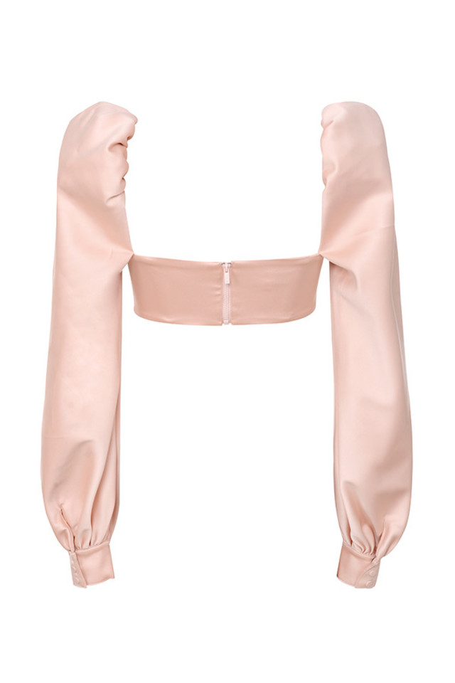 jana top in blush