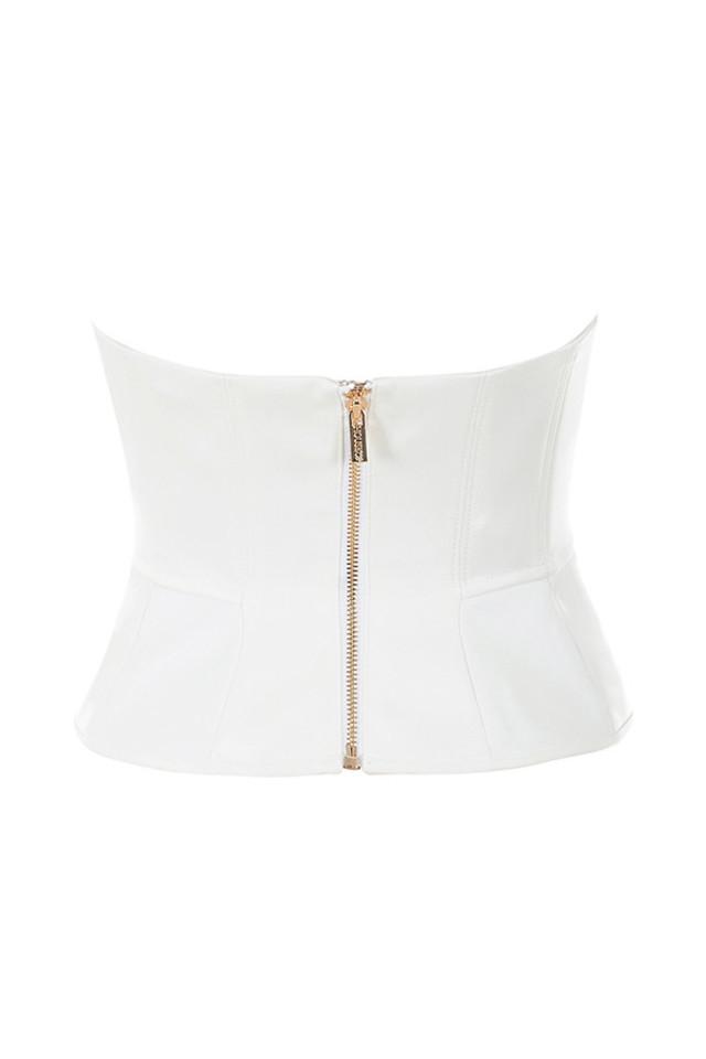 simone top in white