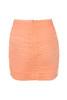 aubrey skirt in peach