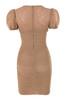 marcia dress in tan