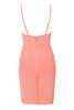 savannah dress in peach