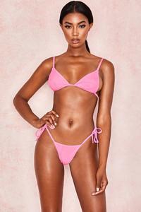Libby Pink Triangle Bikini