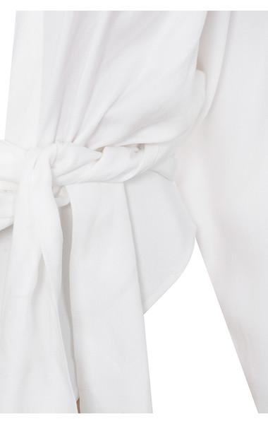 white amelia bodysuit