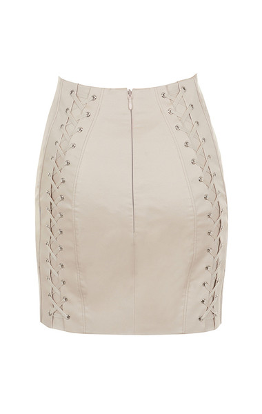 chania skirt in taupe