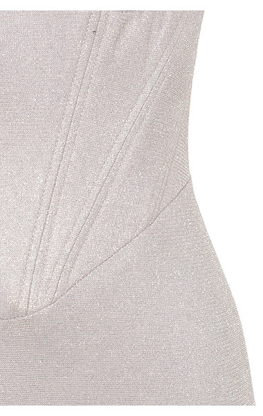 silver eevi dress