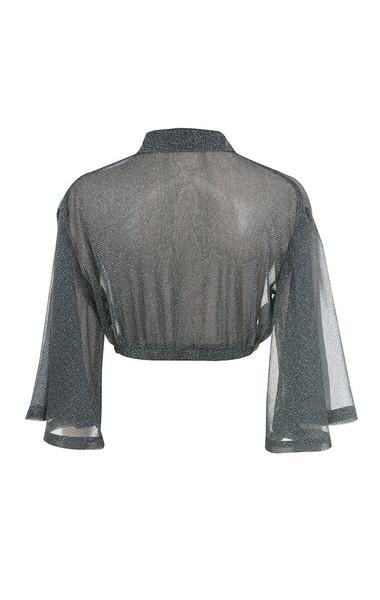 emmanuella top in grey