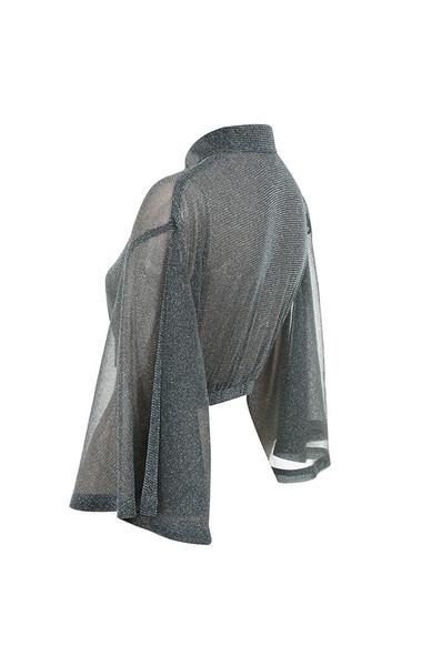 emmanuella in grey