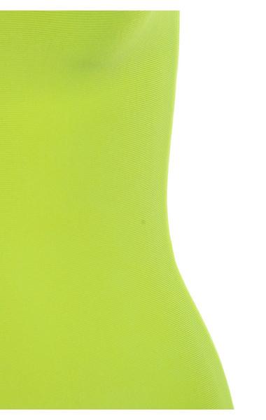 lime flavia dress