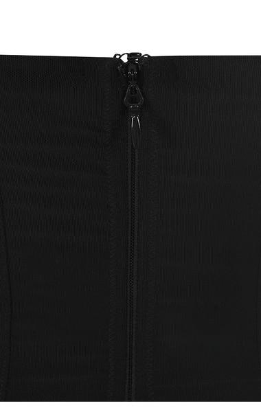 jaleesa black dress