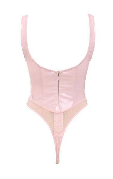 kenzia bodysuit in blush