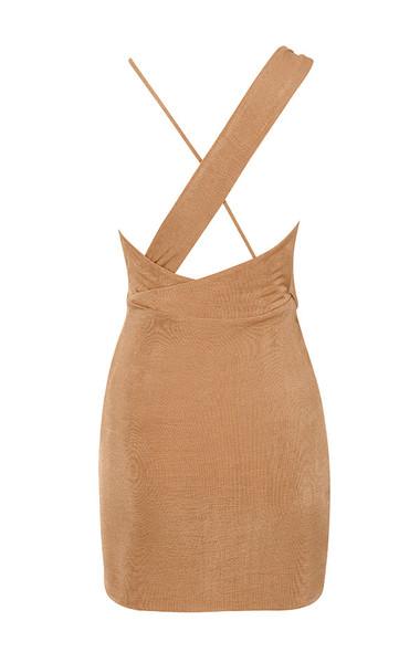 kiki dress in tan