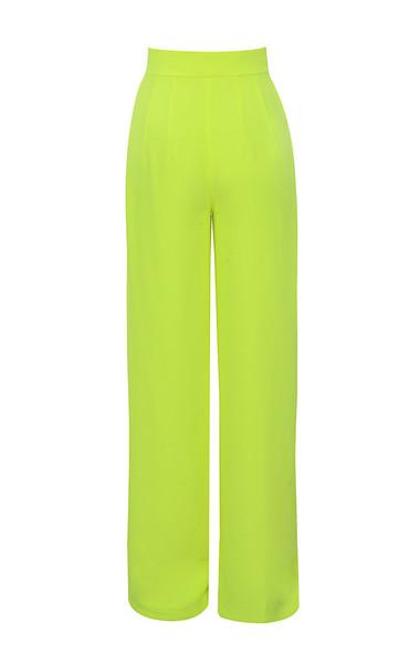marsha trousers in neon