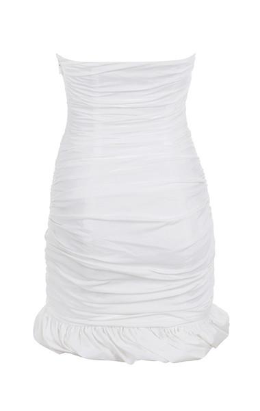 rema dress in white