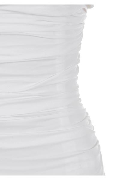 white rema dress
